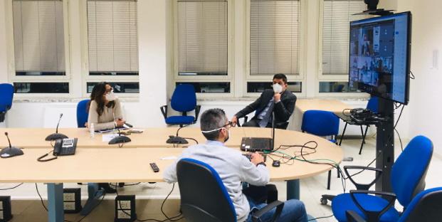Emergenza Covid e criticità territoriali, riunione in videoconferenza in Prefettura