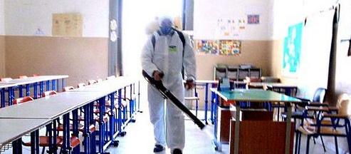 Celano, sanificazione straordinaria di tutti gli edifici scolastici e comunali