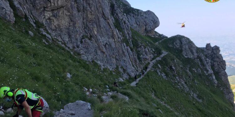 Gravi due giovani alpinisti di Avezzano dopo un volo di 100 metri sul Gran Sasso