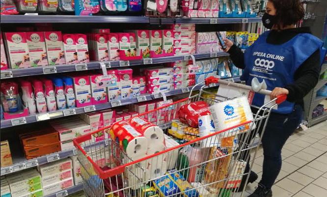 Coop consegna la spesa fatta online direttamente a casa ad Avezzano e paesi limitrofi