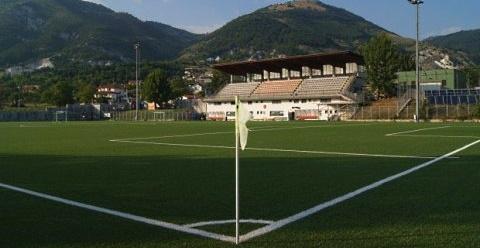 Stadio comunale di Trasacco destinato a zona per l'esecuzione di tamponi