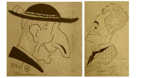 Aldo Pantanelli, un caricaturista avezzanese sotto il regime fascista (marzo-aprile 1926)
