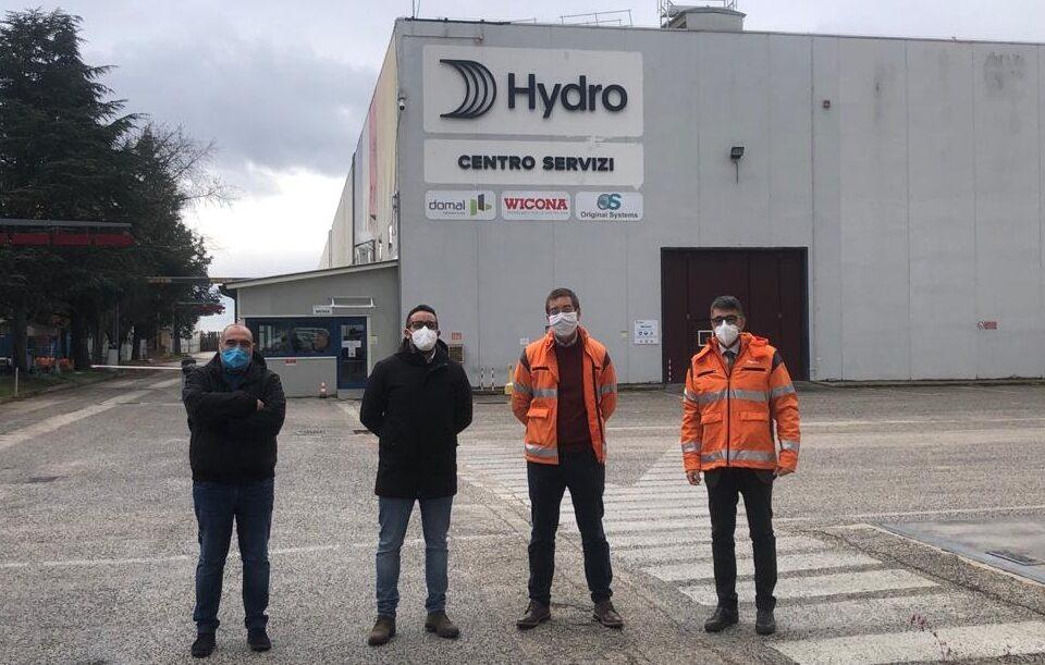 Aielli, la Hydro Building Systems Italy Spa dona più di 400 tamponi