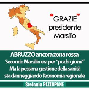 """Abruzzo unica Regione a rimanere zona rossa? Pezzopane contro Marsilio: """"Ha voluto lui la zona rossa anche quando i nostri parametri non erano da zona rossa"""""""