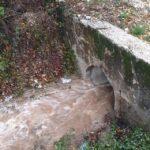 Luco dei Marsi, piogge abbondanti: Fossato e Rio Carniello sotto controllo