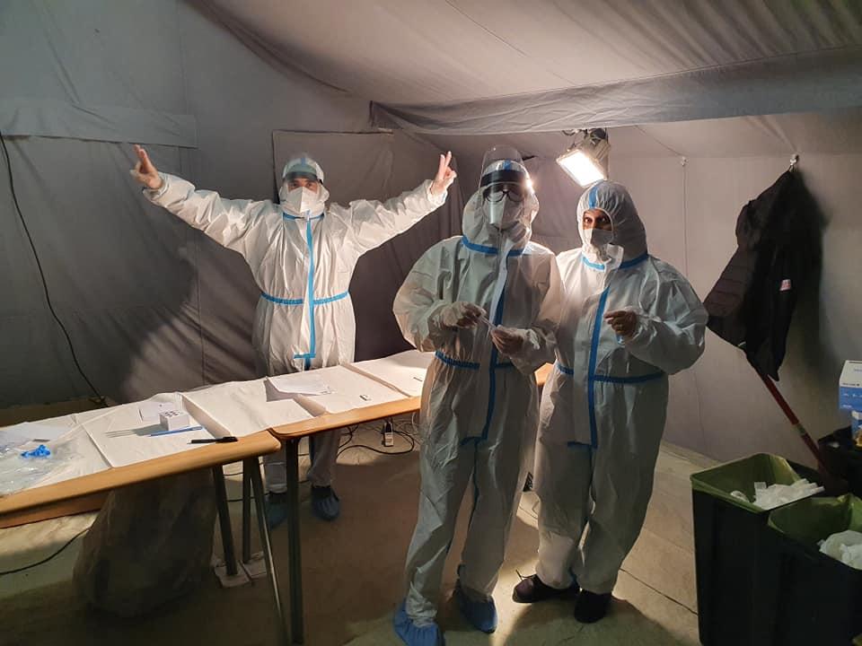 Covid-19, conclusa la quarta giornata di screening a Pescina