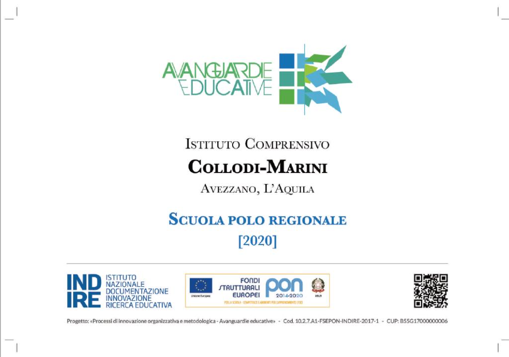 """L'Istituto """"Collodi-Marini"""" di Avezzano ottiene il riconoscimento di Scuola Polo Regionale di """"Avanguardie Educative"""""""