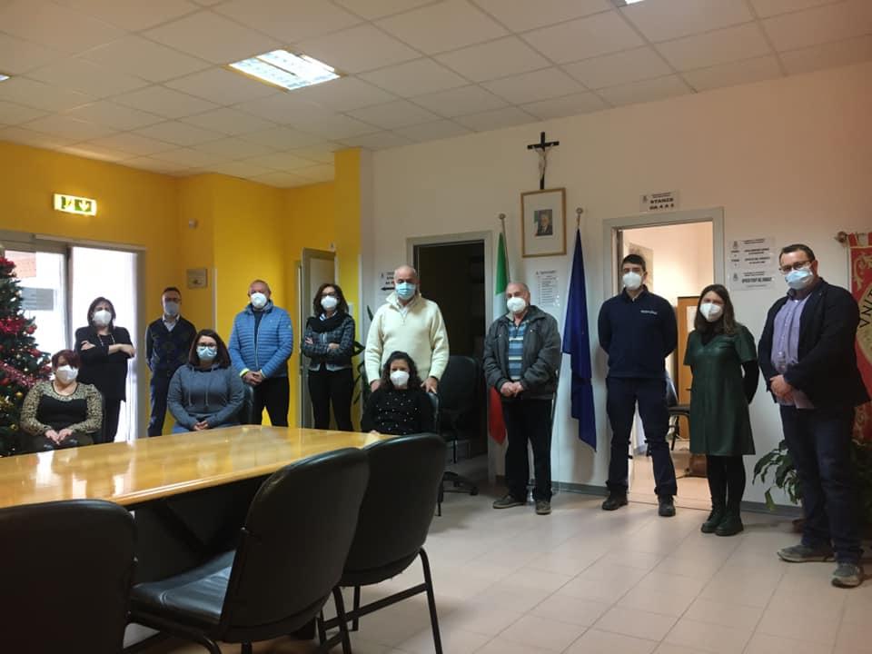 Il Sindaco di Ovindoli Simone Angelosante si congratula con tutti i dipendenti comunali
