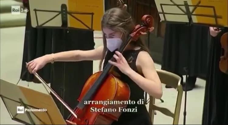 """""""Il Concerto di Natale a Montecitorio"""", arrangiamento del Direttore D'Orchestra Stefano Fonzi del brano di Ennio Morricone"""