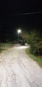 Balsorano, attivate due nuove linee di illuminazione pubblica