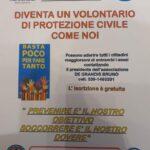 La Protezione Civile di Cerchio in prima linea insieme al comune in favore della comunità, il plauso di Tedeschi ai volontarIi