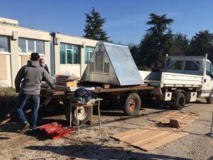 L'Istituto Agrario Serpieri di Avezzano riceve dal Parco il pollaio a prova d'Orso