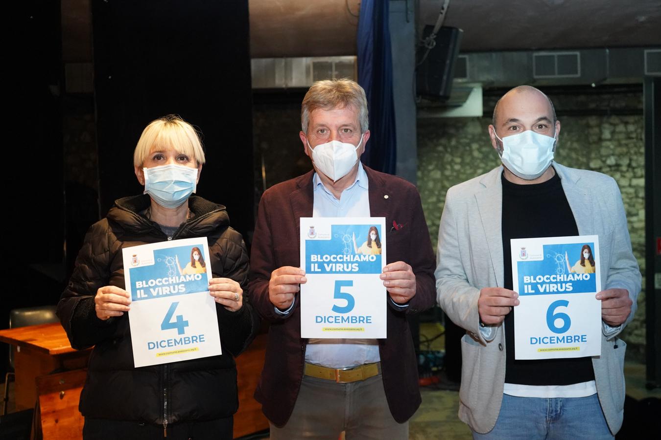 """Emergenza Covid Avezzano: attivazione screening di massa nel territorio comunale. """"Uniti per fermare il virus"""""""
