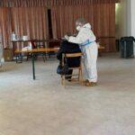 Si conclude la terza giornata di screening a Sante Marie, su 93 tamponi nessun positivo