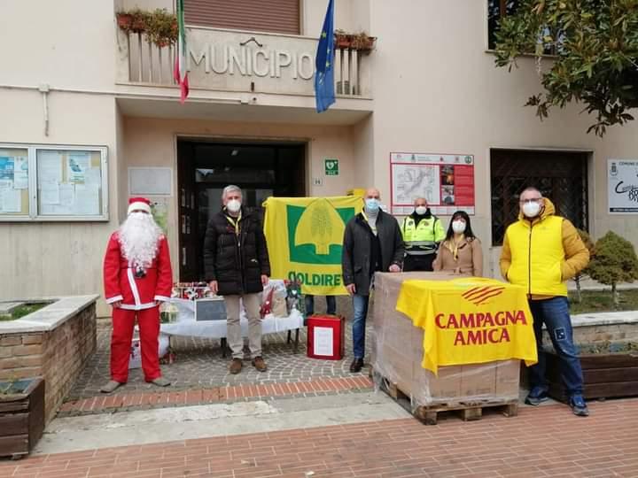Sante Marie, arriva la Campagna Amica di Coldiretti con 200 quintali di pasta per i bisognosi
