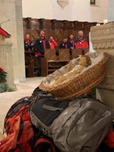 """A Magliano dei Marsi si è svolto il tradizionale rito del """"passaggio del bambinello"""""""