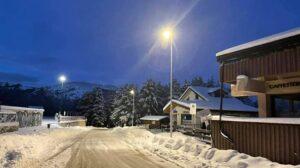 Ovindoli, inaugurato il nuovo impianto di illuminazione pubblica del piazzale Magnola