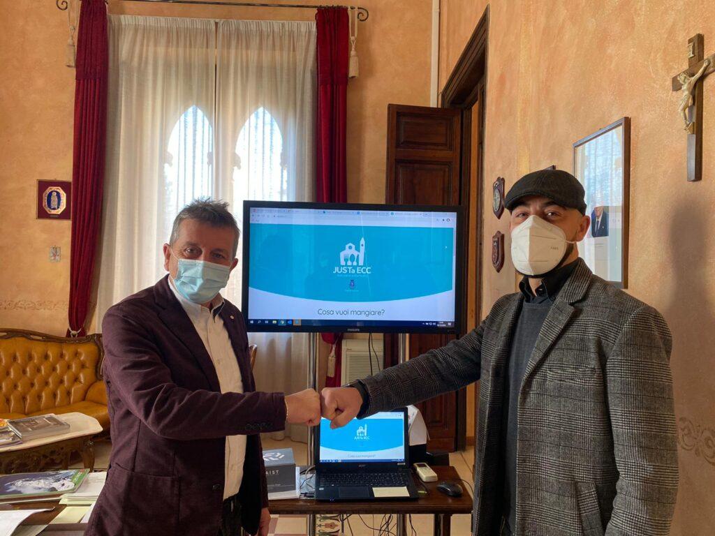 USTaECC: un nuovo alleato per la ristorazione ad Avezzano. Vetrina digitale presentata in Comunale