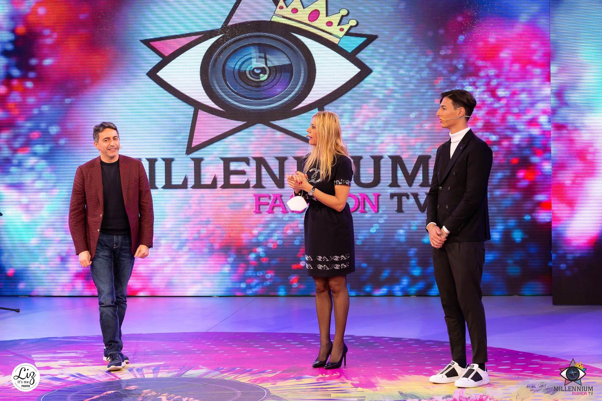 Millennium Fashion TV, tra gli ospiti anche l'attore Corrado Oddi