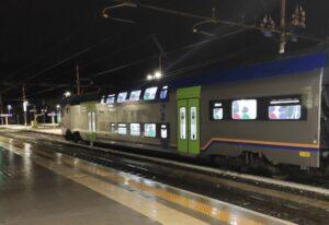 Carrozza TAF Vivalto con semipilota (in servizio dal 23-10-2020 sulla Roma-Avezzano)