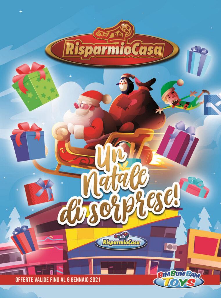 """E' ora di pensare ai regali con il nuovo catalogo dei giocattoli """"Un Natale di Sorprese!"""" di Iper Risparmio Casa"""