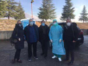 """Donati dispostivi di sicurezza Covid al pronto soccorso e all'UTIC dell'ospedale di Avezzano, Mascigrande: """"continuare a lavorare per combattere il Virus"""""""