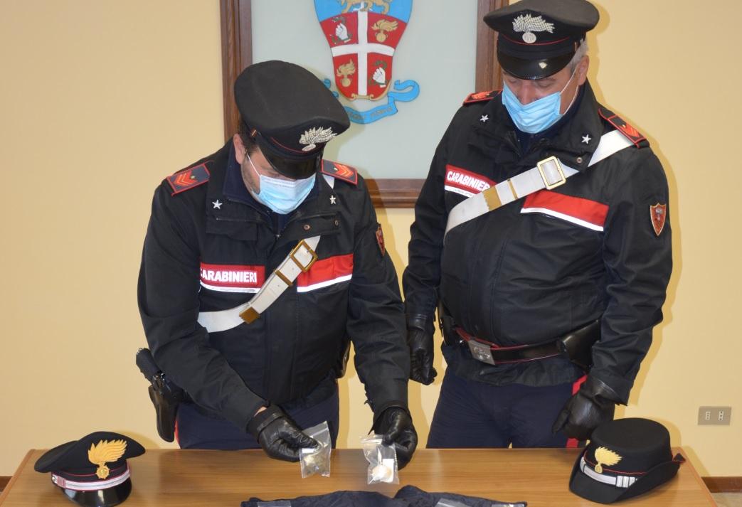 Un arresto per detenzione ai fini di spaccio di stupefacenti