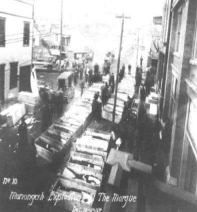 La camera ardente dei caduti (archivio WVLU)