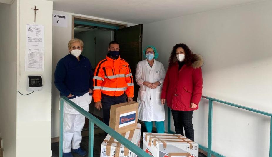 La Celi Calcestruzzi dona dispositivi di protezione all'ospedale di Tagliacozzo