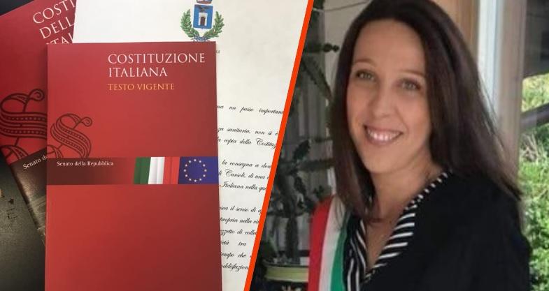 L'Amministrazione comunale di Carsoli consegna a casa una copia della Costituzione Italiana