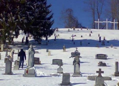 Il Mount Calvary Cemetery di Monongah (WV)
