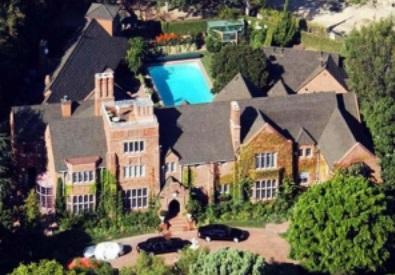 La villa di Dean Martin a Bel Air- Los Angeles
