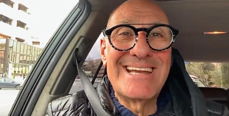 L'attore Stefano Masciarelli aderisce alla campagna di Antonio Oddi sull'uso della mascherina