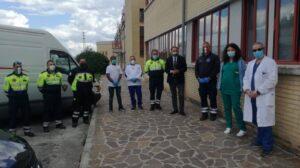 La Protezione Civile di Tagliacozzo ringrazia l'Assessore al Bilancio della Regione Abruzzo Guido Quintino Liris per lo stanziamento di €10.000