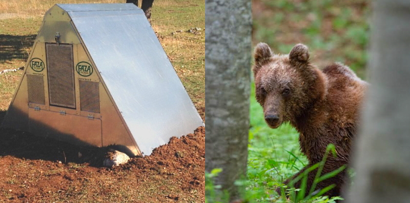 Salviamo l'Orso dona un pollaio anti-orso al Parco nazionale del Gran Sasso Monti della Laga