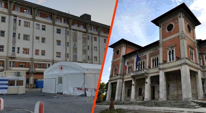 Manifestazione pro sanitari, oggi l'amministrazione di Avezzano scende in campo davanti l'Ospedale