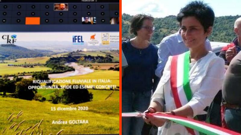 Concluso ciclo webinar sui Contratti di Fiume organizzati da Anci Abruzzo e Centro Italiano per la Riqualificazione Fluviale