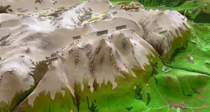 Per le festività di Natale presentato online il Plastico del Parco Sirente Velino