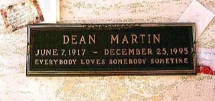 L'anniversario della morte di Dean Martin 25 dic 1995 - 25 dic. 2020