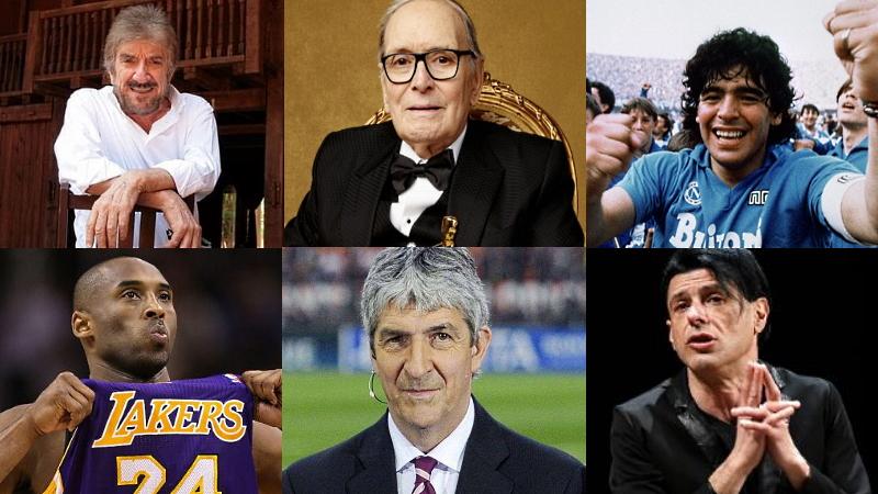 I personaggi famosi che ci hanno lasciato nel corso del 2020