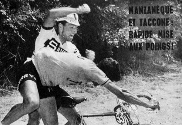 Quando Vito Taccone prese a pugni Fernando Manzaneque durante il Tour de France del 1964