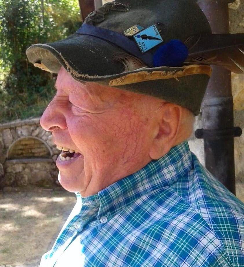Opi dice addio a Giuseppe Tatti, ex capogruppo degli Alpini
