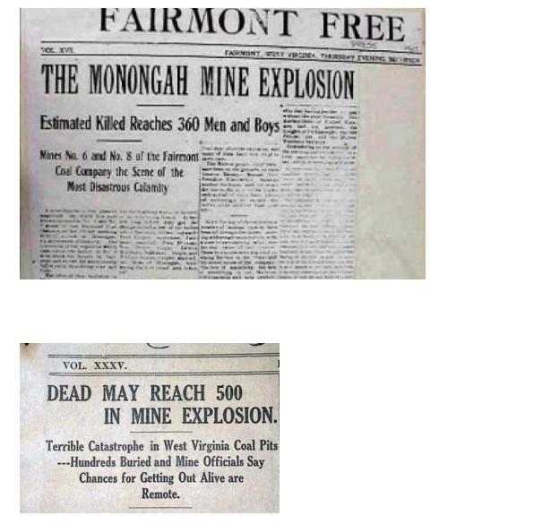 Anniversario del disastro Minerario Di Monongah, 6 dicembre 1907 - 6 dicembre 2020