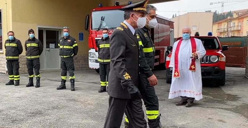 Celebrazione di Santa Barbara, Patrona dei Vigili del Fuoco