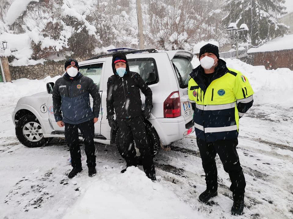 """Emergenza neve, appello del Sindaco di Cappadocia Lorenzin: """"Abbiamo bisogno di aiuto"""""""