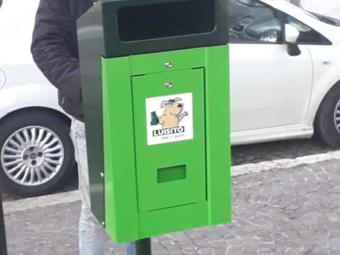 """A Carsoli sono arrivate le """"dog station"""""""