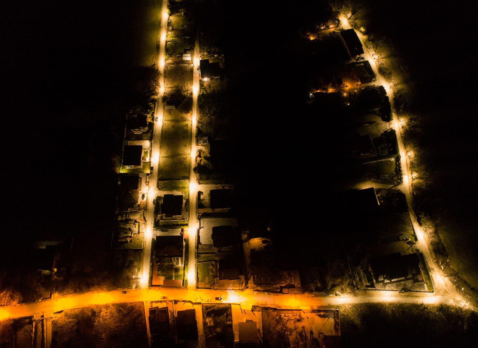 Ultimati i lavori di estensione della pubblica illuminazione a Celano