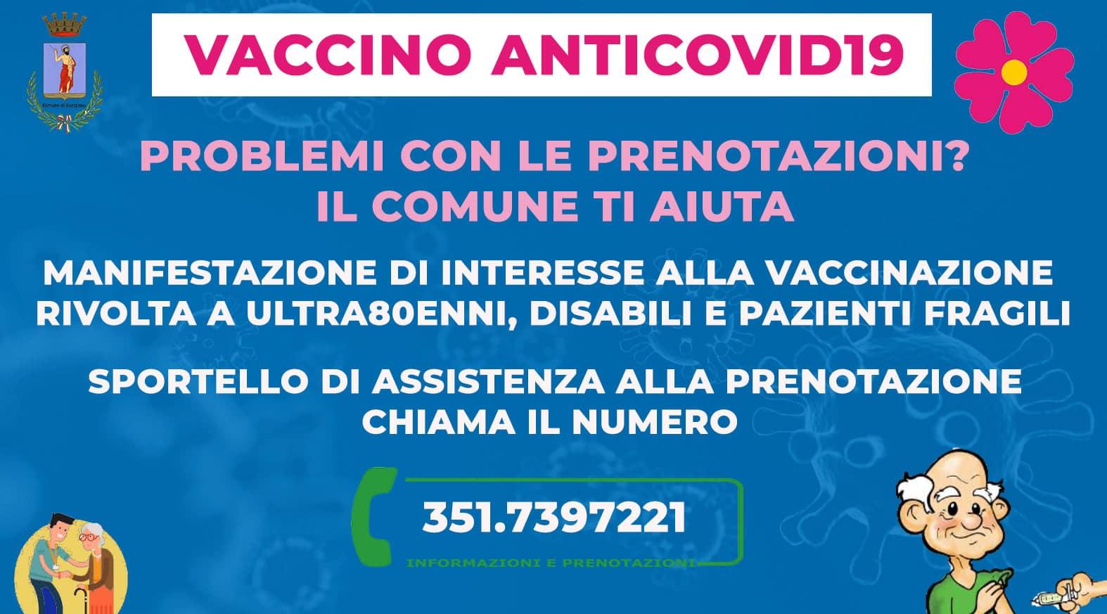 Vaccino anticovid: devi iscriverti in piattaforma? Il Comune di Avezzano ti aiuta