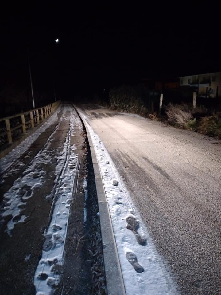 Pescina, funzionamento anomalo dell'illuminazione di una parte della pista ciclabile