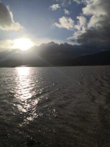 """Maltempo e """"torna"""" il Lago del Fucino"""